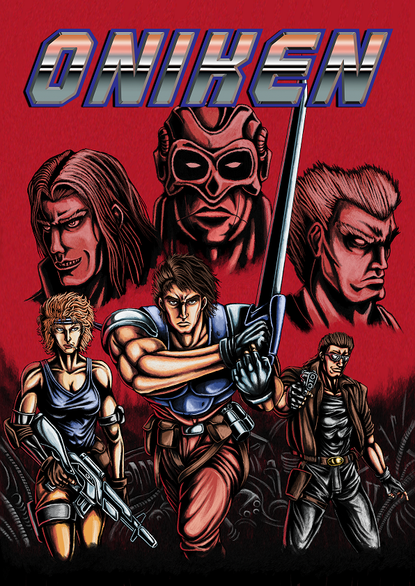 Oniken is out!