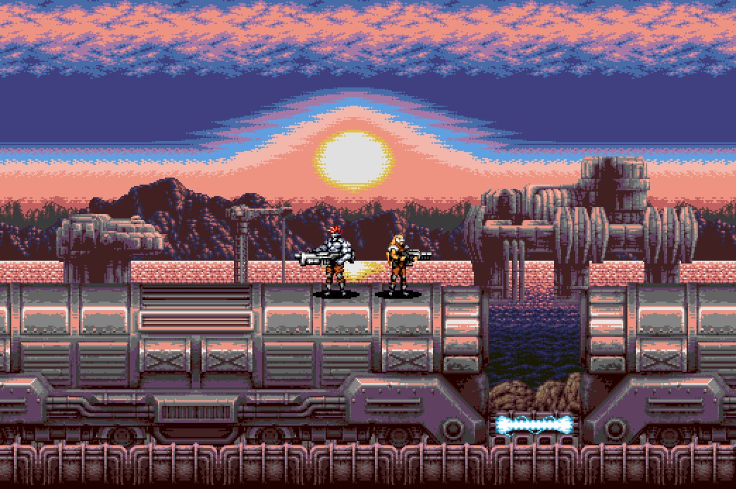 Blazing Chrome stage 2 music is groovy!