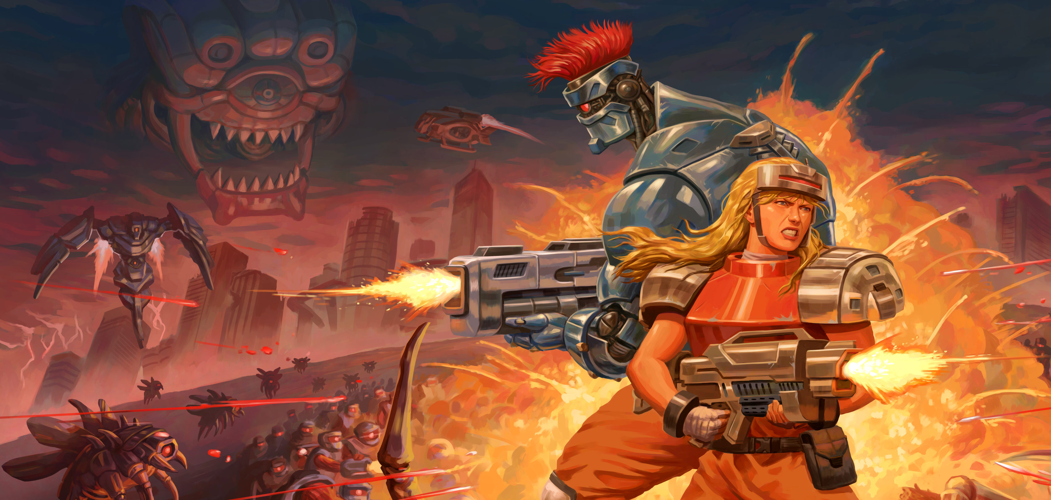 Image result for Blazing Chrome in Game Pass July