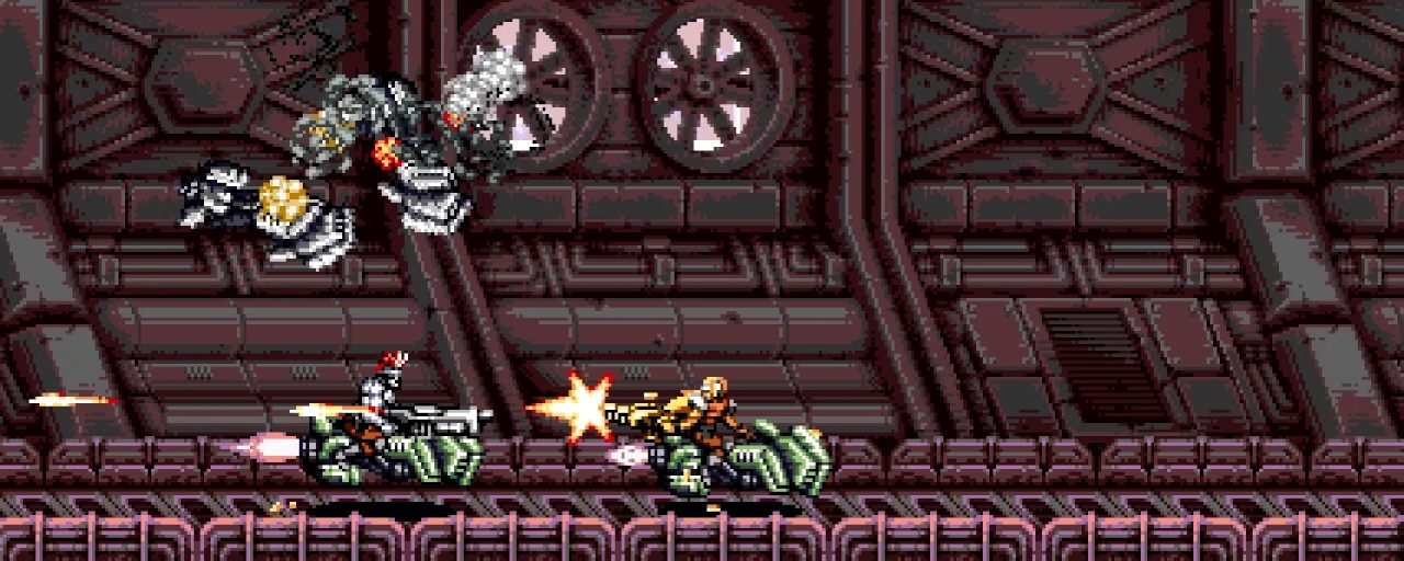 Blazing Chrome Mission 2 Preview