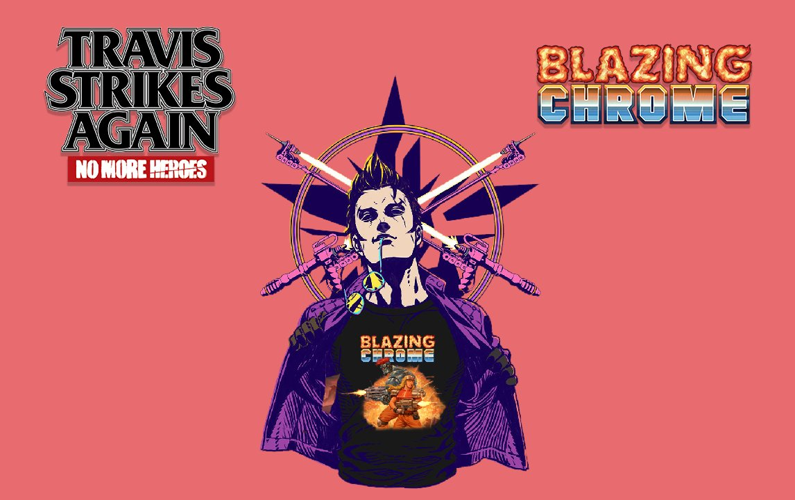 Blazing Chome on Travis Strikes Back!