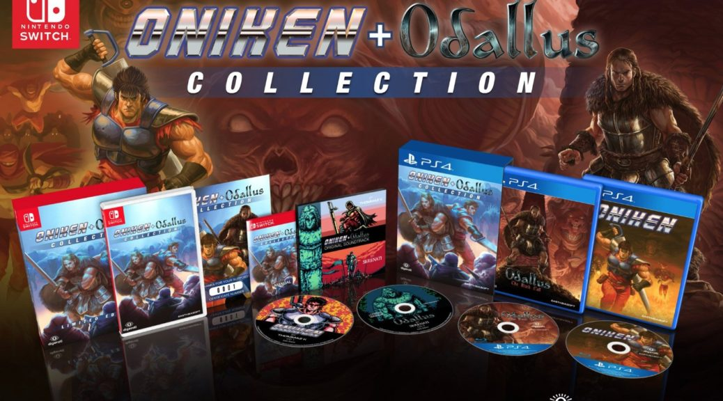 Play Oniken and Odallus on consoles
