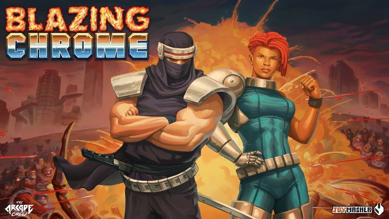 Blazing Chrome comes out on July 11st!