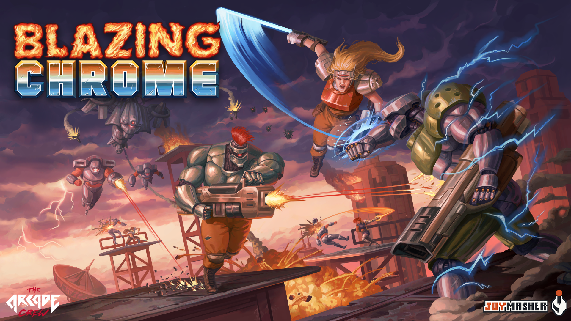 Blazing Chrome new Trailer!